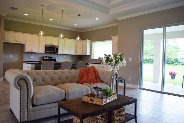sofa in freedom Triple Crown Homes
