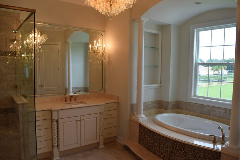 master bath Triple Crown Homes