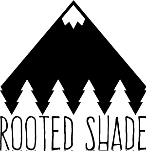 Rooted Shade logo full